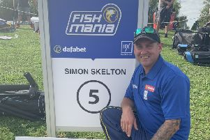Skelton ranks the Fish'O'Mania runners-up spot as the best result of his angling career EMN-190717-121443002
