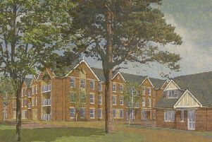 An artist's impression of the planned retirement properties at the former Catherine Dalley House nursing home site in Melton as proposed by developers McCarthy and Stone EMN-190730-143809001