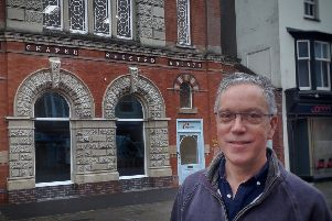 Neal Swettenham, a senior pastor with Melton Vineyard Church, pictured outside the new Hope Centre in Nottingham Street EMN-191030-120854001