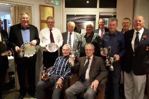 Melton Golf Club's senior section prize winners EMN-190611-091300002