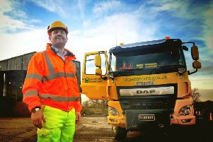 Tom Vesty, county council highways and works manager responsible for winter operations, at the Melton depot on Dalby Road EMN-190611-153644001