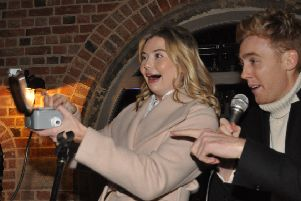 Toff at the Engine Yard Christmas lights switch on event'PHOTO JONNY MCGRADY EMN-191125-100636001