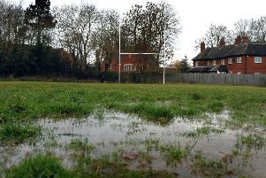 Last week's deluges also saw the postponement of Melton RFC First XV's home league match with Long Buckby, and Syston's trip to Oadby Wyggs EMN-191223-092433002