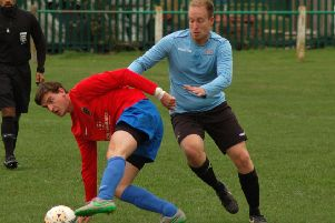 Ben Lapworth opened the scoring for Asfordby at Ellistown EMN-200701-115659002