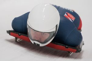 Coltman has medalled in all but one of her first five international races. Picture: @rekords/@britishbobsleighandskeleton