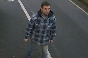 A man police would like to speak to following a criminal damage incident on the A6006 near Melton EMN-200115-163828001