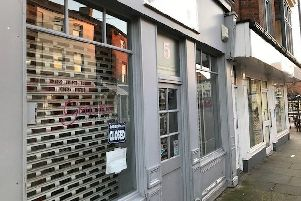 Gracie's sandwich shop in Melton, which closed down on Friday EMN-200120-174414001