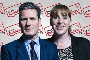 Sir Keir Starmer and Angela Rayner, who have been voted for as leader and deputy leader of the Labour Party by members of the Rutland and Melton Labour Party group EMN-200702-094126001