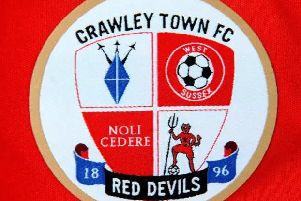 Crawley Town's badge