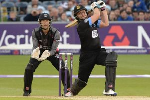 Luke Wright in action for Sussex last summer. Picture by Phil Westlake (PW Sporting Photography)