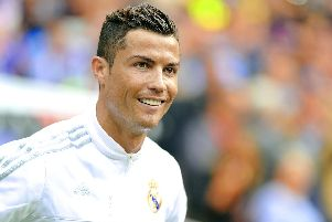 Real Madrid superstar Cristiano Ronaldo.'Picture by Shutterstock