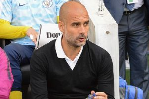 Manchester City boss Pep Guardiola. Picture by PW Sporting Pics