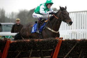 Camping Ground leaves rivals standing in the 2017 totepool National Spirit Hurdle / Picture by Clive Bennett