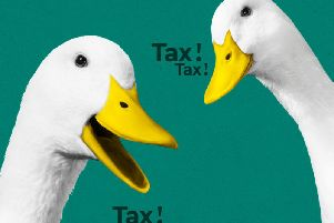 Ducks remind taxpayers
