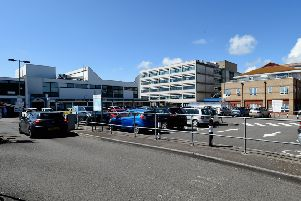 Worthing Hospital, run by Western Sussex Hospitals Trust, which spent �7m on repairs there and at St Richard's and Southlands hospitals only last year