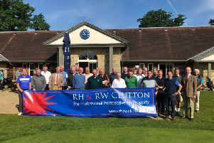 Estate agents charity golf day for the Royal British Legion