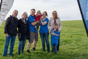 Richard and Louise with Joshua and family members