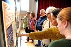 Latest consultation on Petworth Neighbourhood plan at the Leconfield Hall, Petworth Market Square. Pic Steve Robards  SR1617110