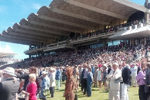 Watching the action at Glorious Goodwood