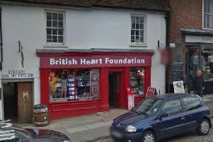 The British Heart Foundation store in Midhurst