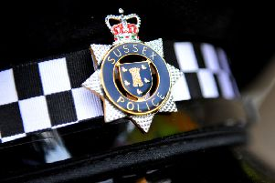 Sussex Police. Pic Steve Robards SR1817801 SUS-180108-084512001