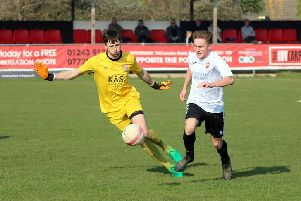 Pagham on the attack against Saltdean / Picture by Roger Smith