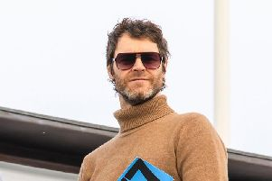 Howard Donald at Goodwood