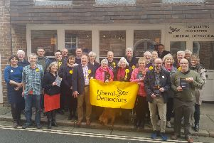 Chichester Liberal Democracts at their manifesto launch