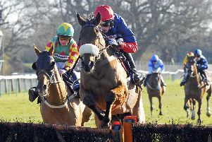 Over the sticks at Fontwell