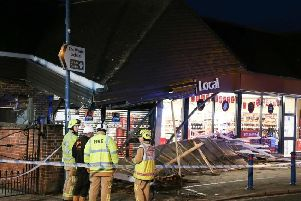 Sainsbury's Local in High Street, Billingshurst was hit in October 2018