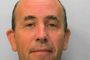 Ian Crockford, 47, a computer operator, of Graydon Avenue, Chichester. Picture: Sussex Police