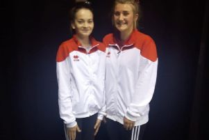 Rosie Budge and Izzy Hauxwell
