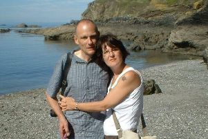 Ken and Helen Slaughter. Picture contributed