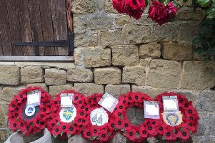 The wreaths that were taken over by Janet Duncton