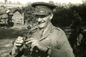 General Lashmer Gordon Whistler of the Royal Sussex Regiment. Picture courtesy of West Sussex Records Office
