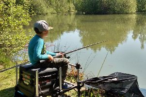 Cody Hughes showing that angling can appeal to the younger generation - why not try to get your kids interested?