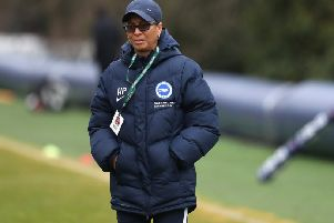 Brighton manager Hope Powell (getty)