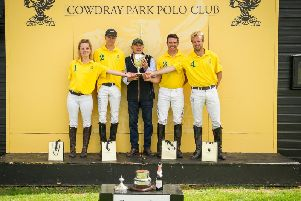Benson Cup winners Maiz Dulce / Picture by Mark Beaumont