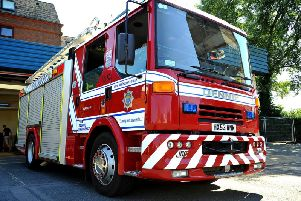 Firefighters called to solar panel fire at Rogate house