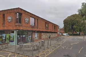 The district council building in East Pallant, Chichester. Picture via Google Streetview