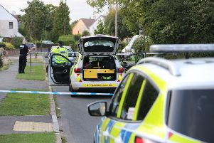 Police in Willow Way, Hurstpierpoint