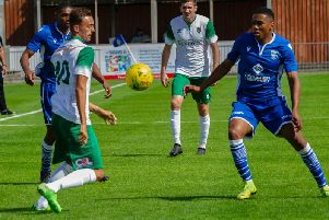 Bognor in action at Bishop's Stortford on Saturday / Picture by Tommy McMillan