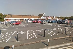 The Tesco superstore in Broadpiece, Wick where the incident happened. Picture: Google Earth SUS-170301-135907001