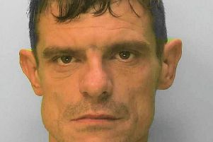 Paul Tully, 36, has been jailed following his conviction for vehicle crime in Bognor Regis. Photo: Sussex Police SUS-191017-161741001