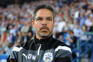 Huddersfield Town manager David Wagner