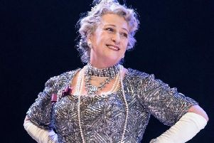 Caroline Quentin stars in Me and My Girl at Chichester Festival Theatre. Picture by Johan Persson