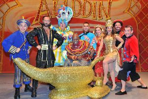 Aladdin at The Hawth