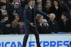 Brighton boss Chris Hughton. Picture: Phil Westlake (PW Sporting Photography)