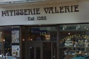 Patisserie Valerie branch in Eastbourne. Google Street View
