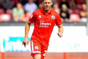 Crawley Town's Dannie Bulman is the oldest player in the Football League'Picture by Steve Robards